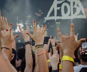 fall out boy, FOB, and concert image