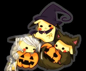 Halloween and kawaii image