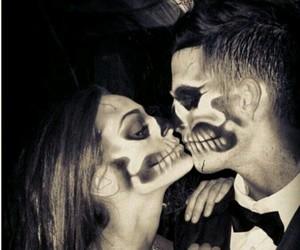love, couple, and Halloween image