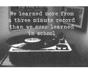 music, school, and true image
