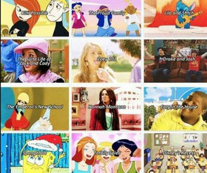 childhood, lizzie mcguire, and lilo and stitch image