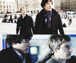 london, sherlock, and season 1 image