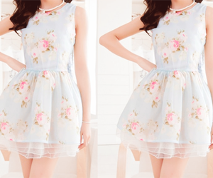 dress, fashion, and kfashion image