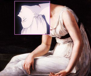 ayanami, goddess, and moon image