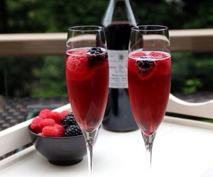 champagne, couple, and enjoy image