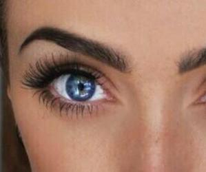 eyes, eyebrows, and eyelashes image
