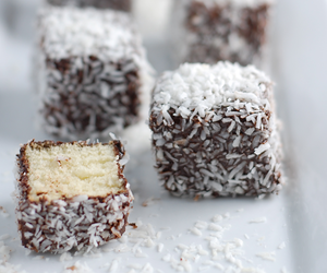 brown, chocolate, and coconut image