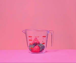 pink and strawberry image