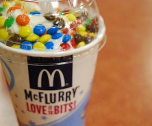mcflurry and food image