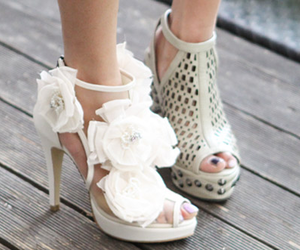 fashion, flowers, and glamour image