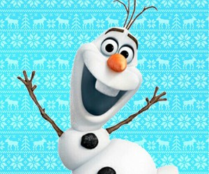 frozen, olaf, and wallpaper image