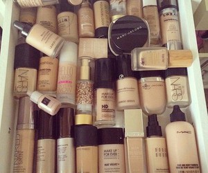 Foundation, mac, and make up image