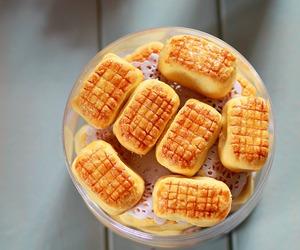 chinese, pineapple, and tart image