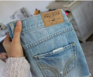 hollister and jeans image