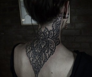 tattoo and neck image