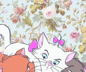 disney, wallpaper, and cat image