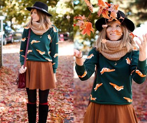 autumn, fall, and leafs image