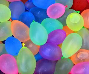 balloons, fun, and summer image