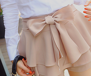 beautiful, pretty, and skirt image