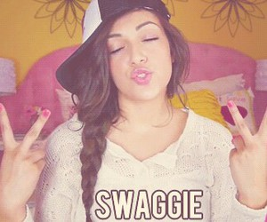 bethany mota, swaggie, and swag image