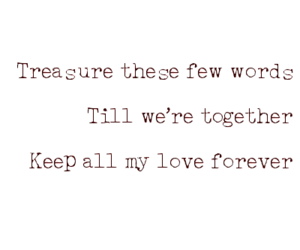 forever, keep, and word image