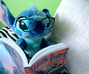 stitch, harry potter, and book image