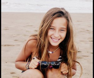 beach, beauty, and smile image