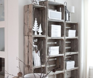 room, white, and wood image