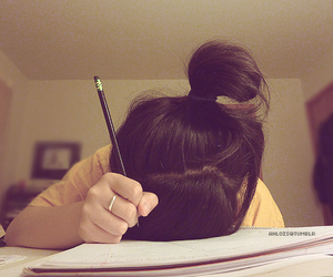 school, study, and homework image