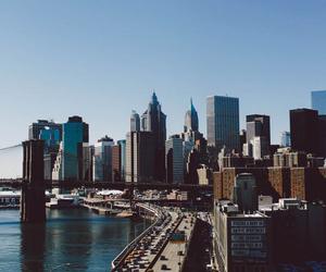 city, new york, and new york city image