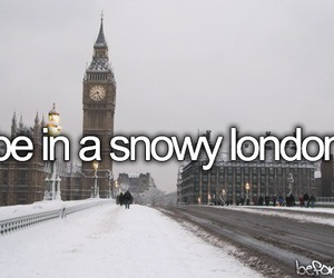 Great Britain, london, and snow image