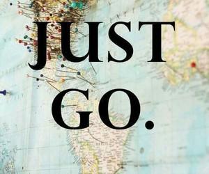 travel, world, and go image