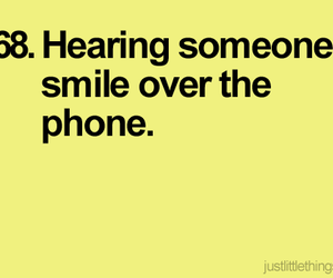 phone, smile, and funny image