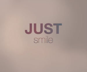 just, smile, and justsmile image