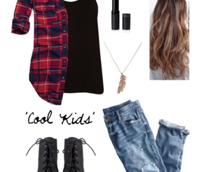 black, boots, and boyfriend jeans image
