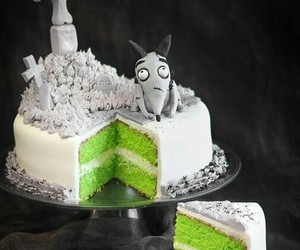 cake, frankenweenie, and green image