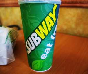 drink, fast food, and subway image