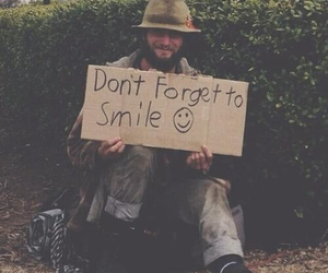 smile, forget, and quote image