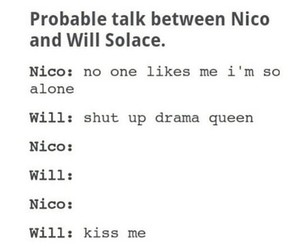 otp, will solace, and tumblr post image