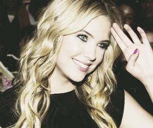 ashley benson, pll, and blonde image