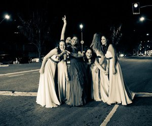 dresses, party, and street image