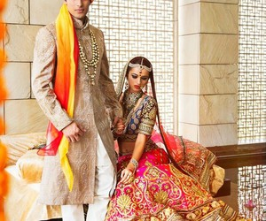 indian wedding and indian couple image