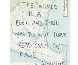 book, travel, and life image