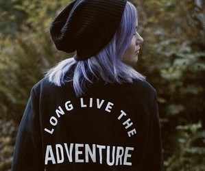 adventure, fashion, and girl image