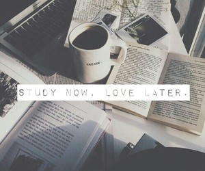 study, love, and book image