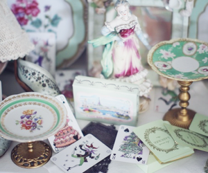 antique, decor, and french image