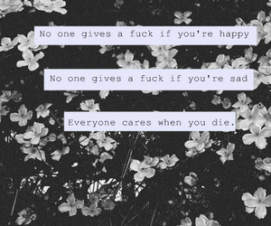 depressed, killed, and quote image