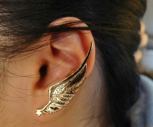 awesome, earring, and fashion image