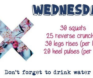 sport, workout, and wednesday image
