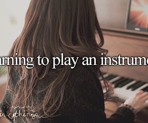 instrument, just girly things, and justgirlythings image
